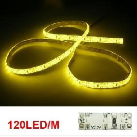 5M White/Warm White 335 Side View Led Strip Lateral Emission Light JST Connector Cable 12V