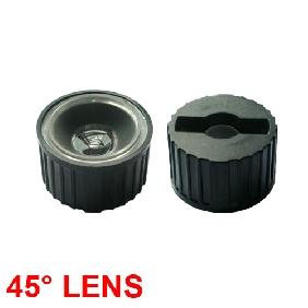 45 Deg Lens Reflector Collimator for Luxeon LED
