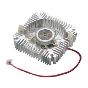 5W 10W High Power LED Cooling Fan Aluminium Heatsink