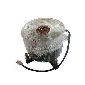50W 100W High Power LED Cooling Fan Aluminium Heatsink