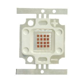 20W Red High Power Led Square Shape