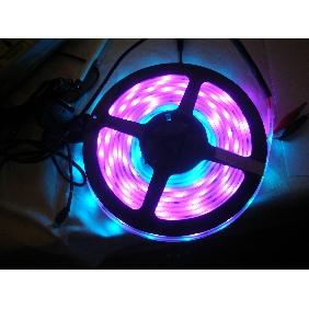 5m 6803 IC 5050 SMD RGB Dream Color LED Strip Light 133 Different Color Effects