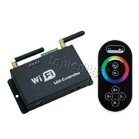 Mobile Phone Smartphone WiFi RGB LED Controller Touchable Sc...