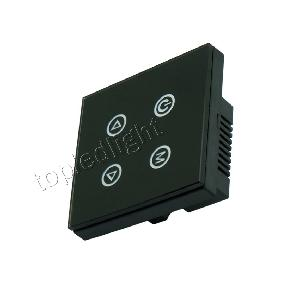 4-Button Touch Panel Dimmer Controller DC 12V-24V for RGB LE...