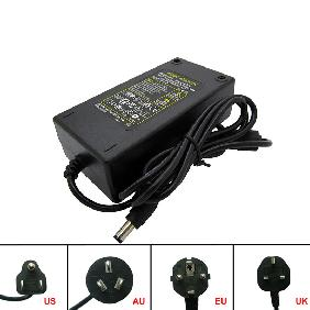 AC 100V-240V/DC 24V 4A Adapter 96W Power Supply AU/EU/UK/US Plug Universal