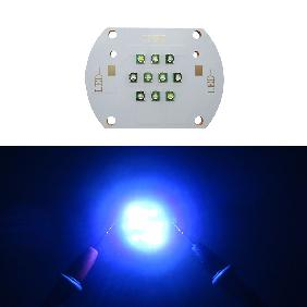 30W 30 Watt Cree XLamp XP-E XPE Royal Blue 450nm 475nm White 10000K LED Matrix