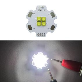 12W Cree XB-D XBD 4 Chip White Color Temperature 6000K LED 20mm PCB Board