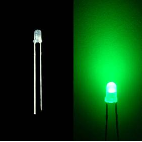 3mm Diffused Red Green Blue Yellow White LED Bulb Light Milk...