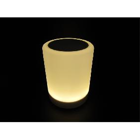 Touch Lamp Mini Speaker USB Bluetooth Music Warm White LED M...
