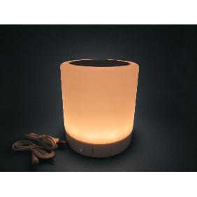 Smart Mood Lamp Speaker Bluetooth Music Warm White LED Dimma...
