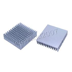 Aluminum Heat Sink Heatsink with Cooling Fins for 1W 3W High Power LED Light