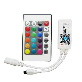 Smartphone WiFi RGB RGBW LED Controller Lighting Dance with Music Remote Control