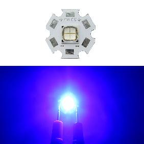 LUXEON M 12V 1A Royal Blue 445-460nm LED LXRO-SROO PHILIPS 20mm Copper PCB