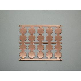 20mm Copper Heat Sink Base Plate PCB Circuit Board For Lumin...