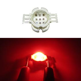 10W Epileds 42mil Red 620-630nm High Power LED DC 6-7V 1A 60...