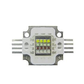 30W 4 Channel RGBW LED Red Green Blue White Full Color 16 Mu...