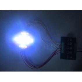 5 Channel Red Green Amber Royal Blue White UV 21-Chip LED Aq...