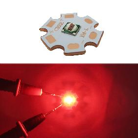 5W Red Green Royal Blue 2-Chip Epileds 5050 LED 20mm Copper ...